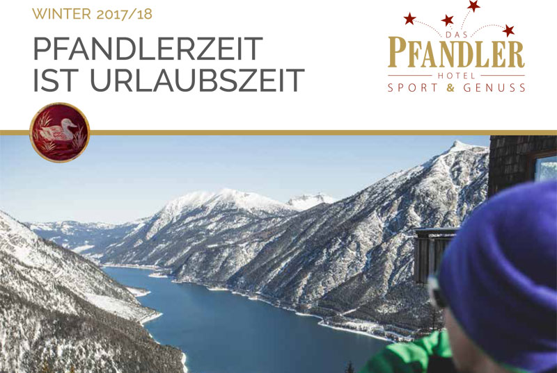 Hotel Pfandler Winterpreisliste 2017/18