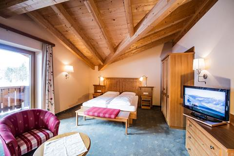 Suite Bergwelt in the hotel Pfandler