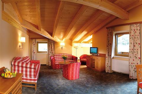 Luxuriöse Suite im Hotel Pfandler