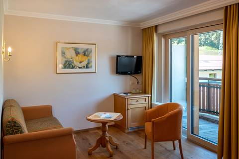Double room Karwendel with a balcony