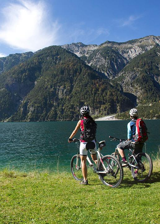 Mountainbiken am Achensee