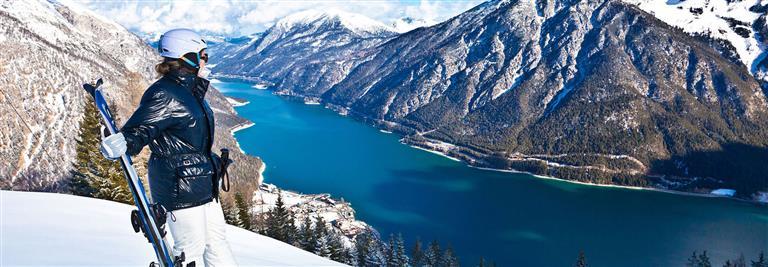 Skifahren am Achensee