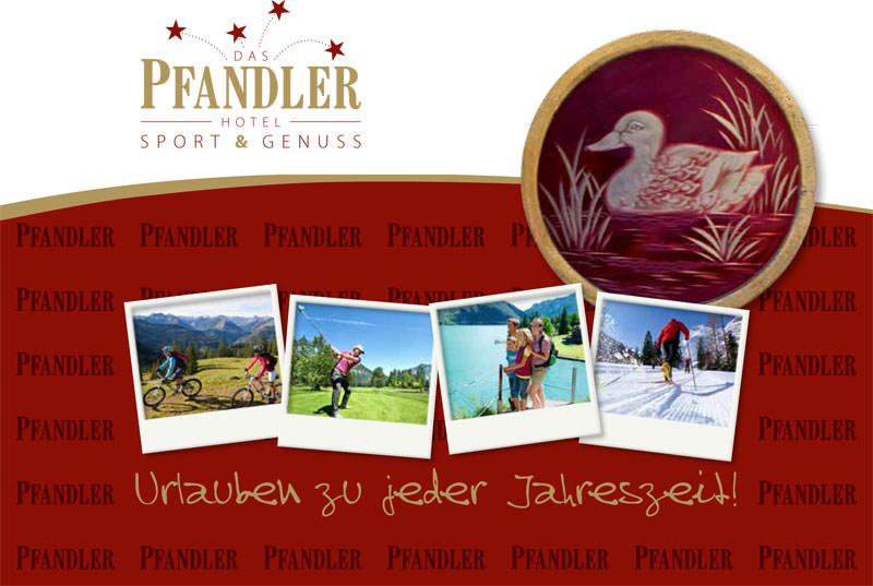 Imagebroschüre Hotel Pfandler