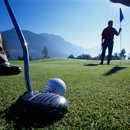 Nahaufnahme Golfschläger