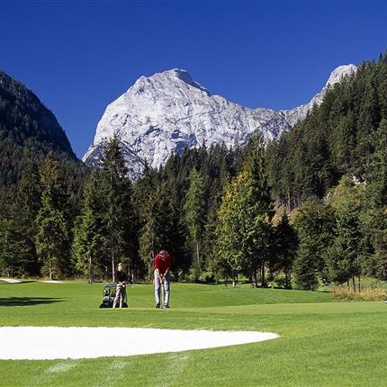 Golf course in the country