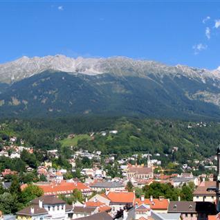 Skyline von Innsbruck