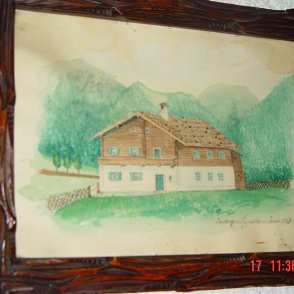 Zeichnung vom Hotel Pfandler