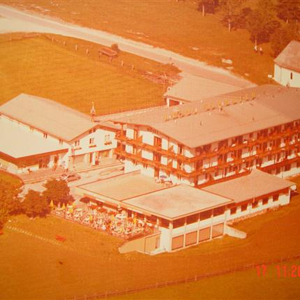 Arial view of Pfandler in 1976