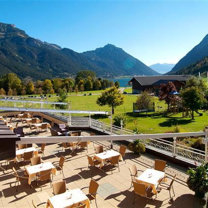 Hotel Pfandler Terrasse