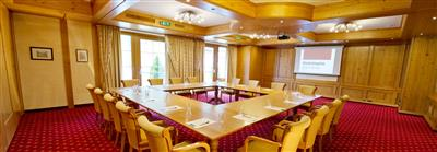 Seminar room in country style