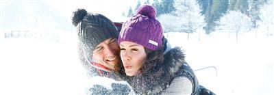 Schneevergnügen im Winter